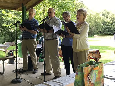 Joint Worship and Picnic with Chappaqua First Congregational