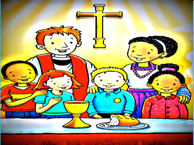 Communion with kids