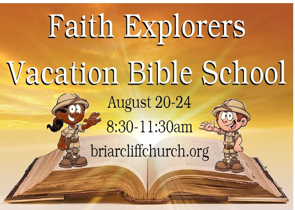 Vacation Bible School – Aug. 20-24